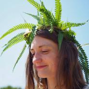 Fern crown (c). Lisa Chapman