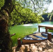 Boating and swimming lake, Cornwall (c). Lisa Chapman