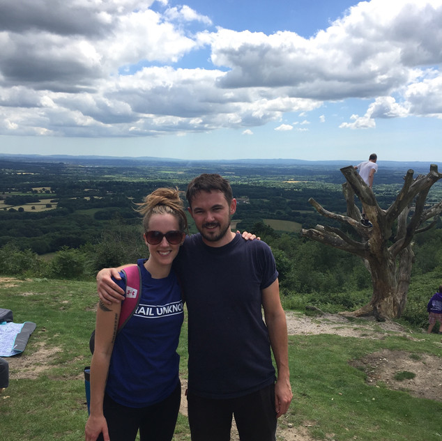 Top of Leith Hill 2019