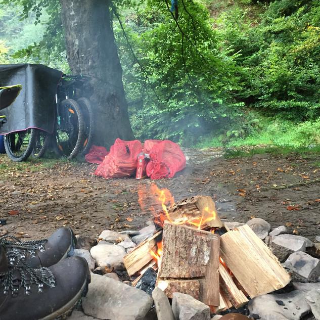 Campfire in Exmoor 2017