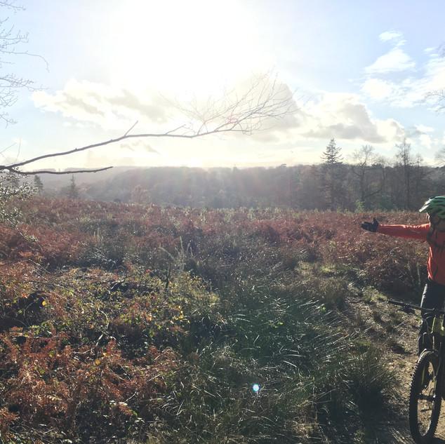 Tom Surrey Hills ride 2018