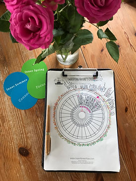 Roses, cards and chart.jpg