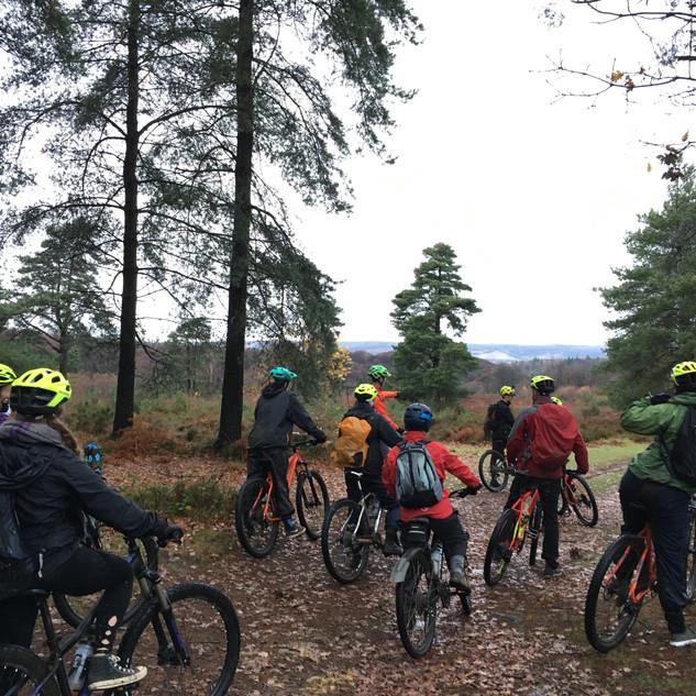 Surrey Hills winter ride 2018