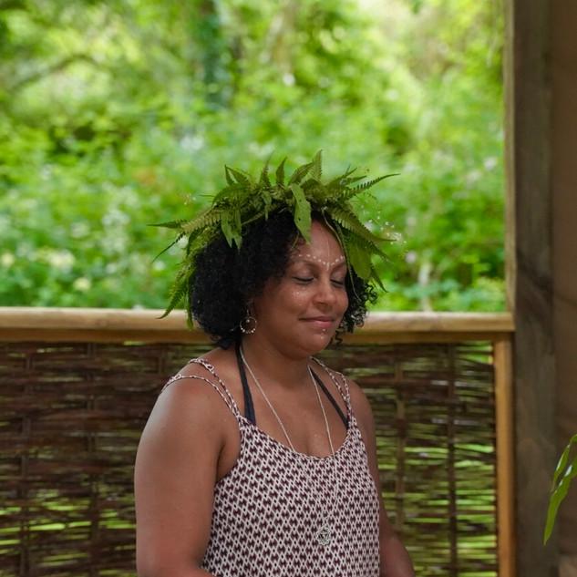 Cacao ceremony - photo (c). Lisa Chapman 2019
