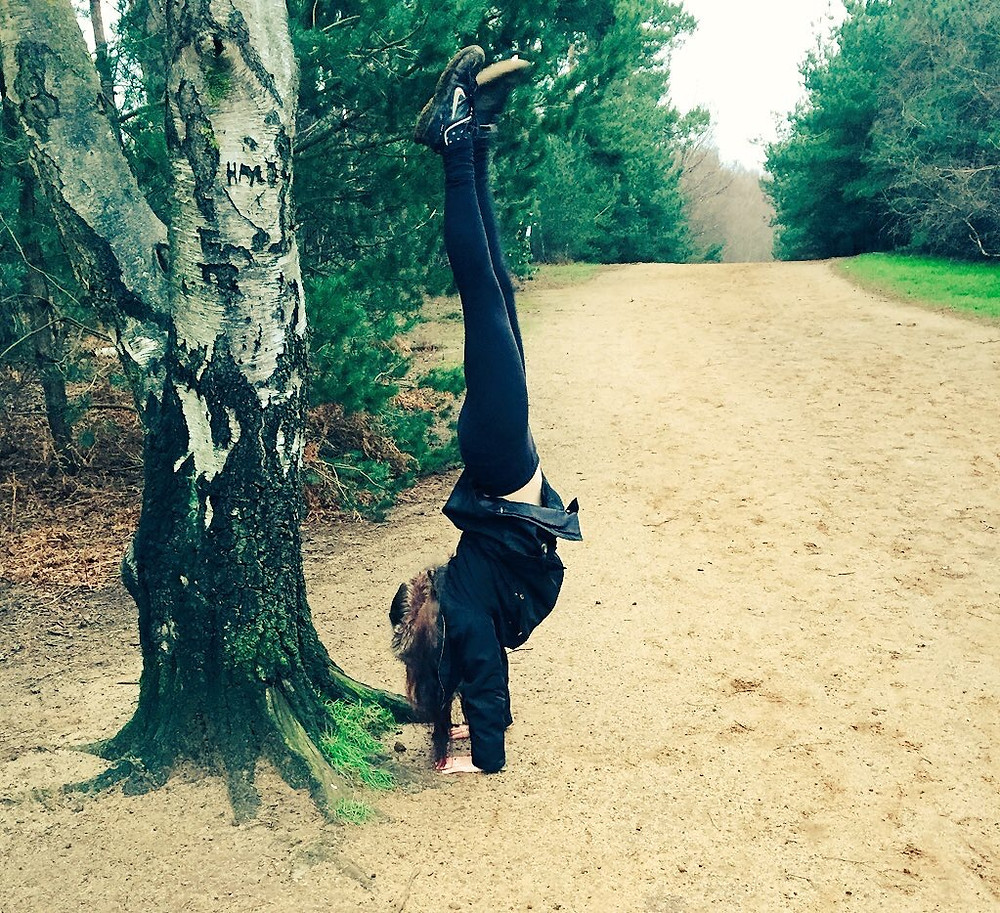 Forest handstand
