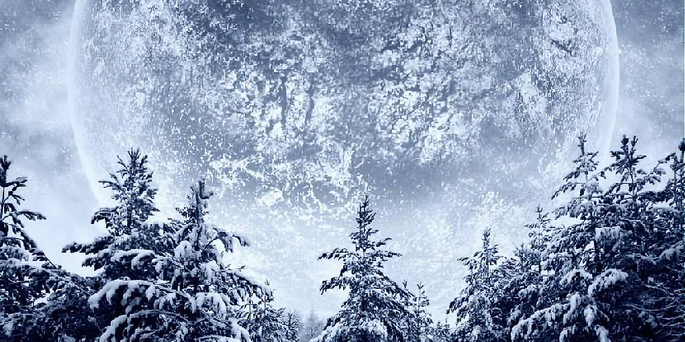 Full Moon Yoga and Yoga Nidra ~ Snow Moon