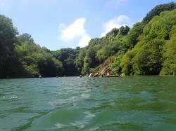 Wild swimming Cornwall retreat