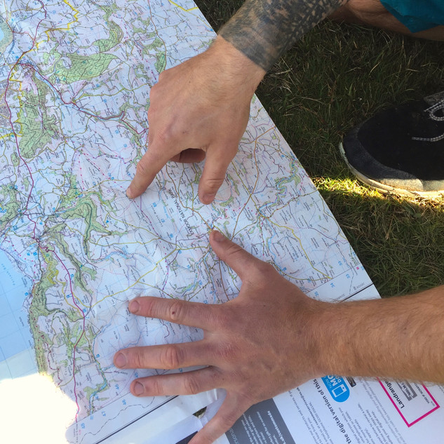 Map reading 2017