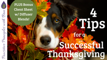 Thanksgiving Safety Tips for Your Dog (+FREE cheat sheet!)