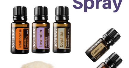 DIY Lumps & Bumps Essential Oil Pet Spray