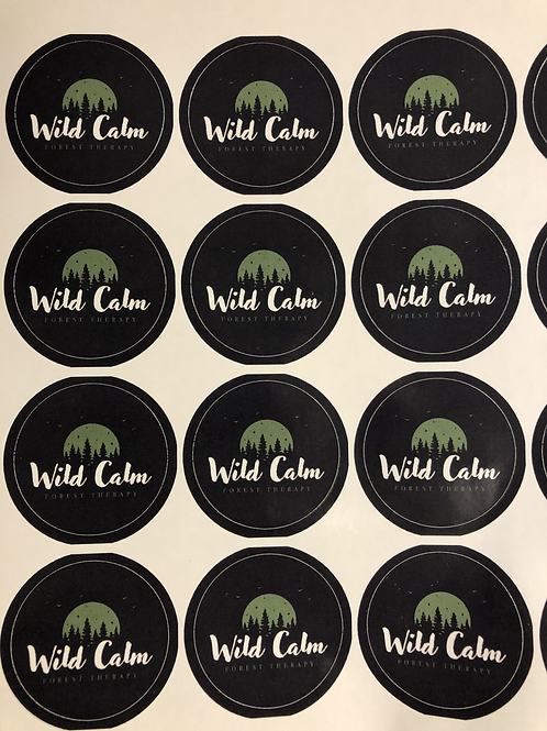Wild Calm Sticker