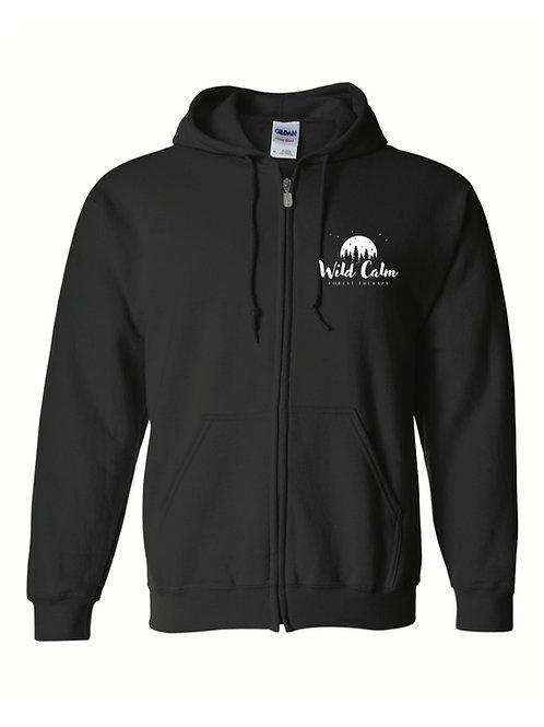 Wild Calm Zip-Up Hoodie Sweatshirt