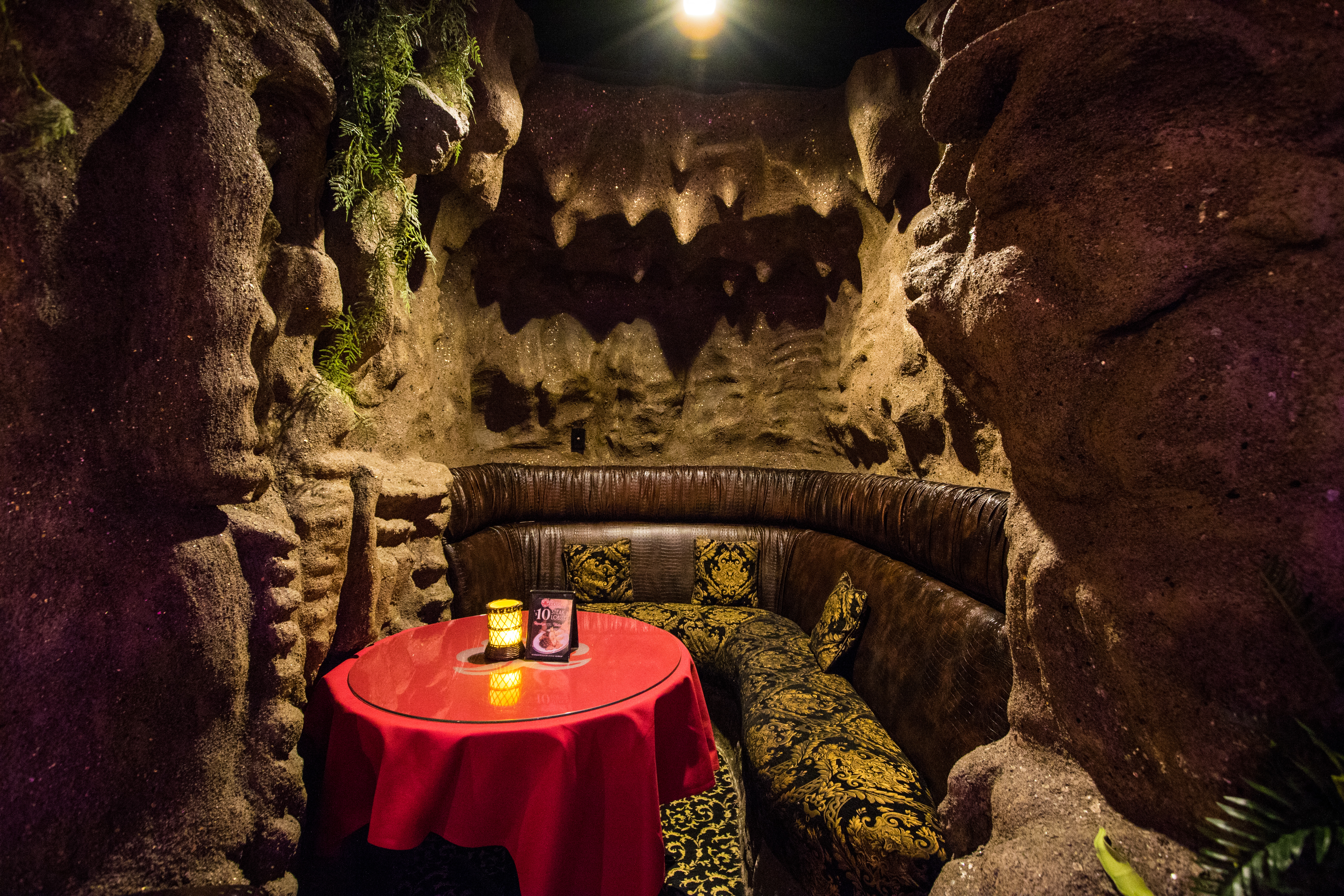 The Lodge VIP Lounge Caves