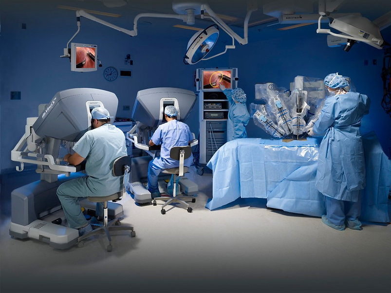 cirurgia robótica mater dei daniel paulino