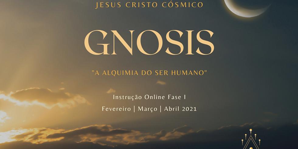 """Curso GNOSIS """"A Alquimia do Ser Humano"""" Instrução de Jesus Cristo Cósmico"""