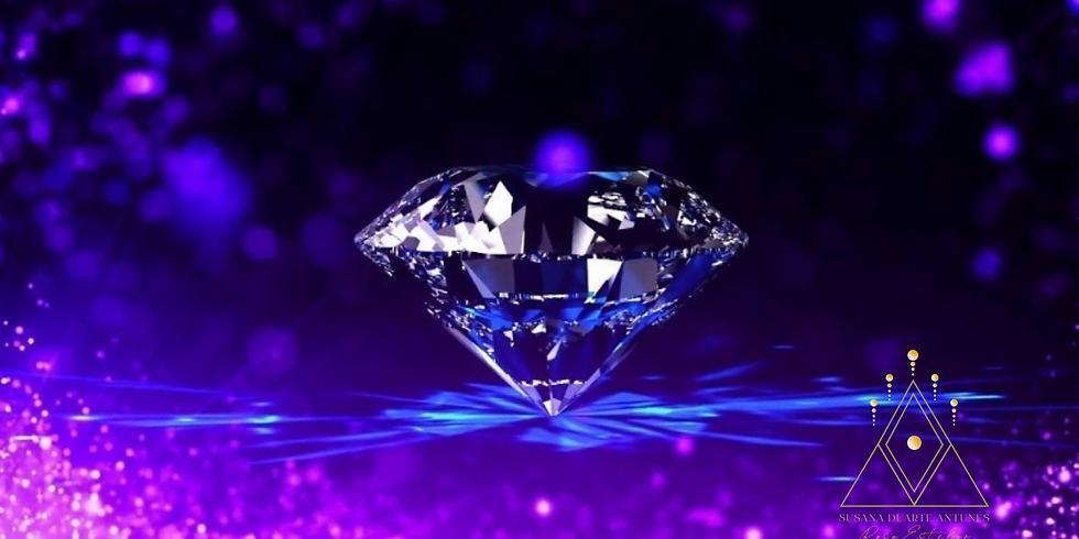 """""""Coração Cristal"""" Cristo Cósmico ~Transmissão Cristal Diamante"""