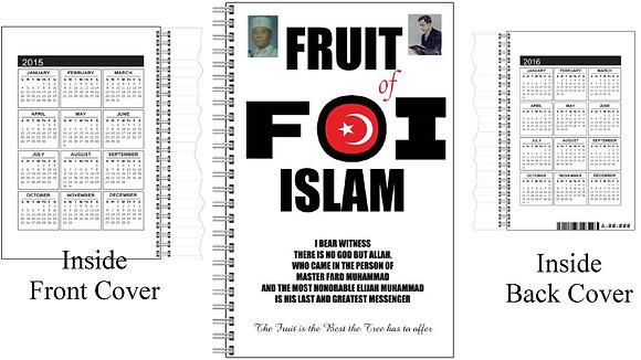 Fruit of Islam Notebook