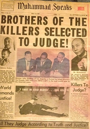 Vintage Muhammad Speaks May 13, 1963