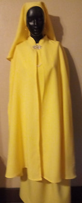 Yellow Garment with Cape