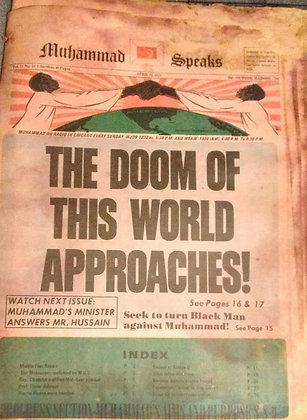 Vintage Muhammad Speaks April 21, 1972