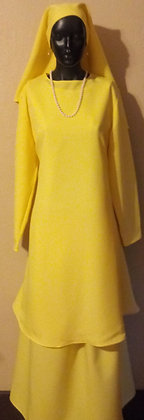 October 2020 Sale!!! Yellow 3 piece Garment