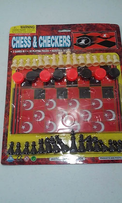 Nation of Islam Chess & Checkers Set