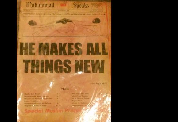 Vintage Muhammad Speaks November 28, 1969