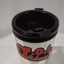 Personalized F.O.I. Shiny Metallic Travel Cup