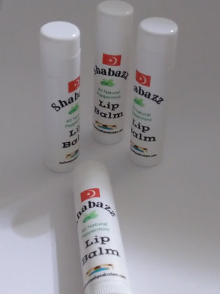 Shabazz All Natural Peppermint Lip Balm