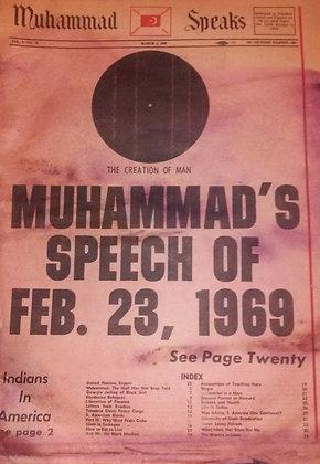 Vintage Muhammad Speaks March 7, 1969