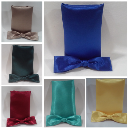 Bow Tie & Handkerchief Set