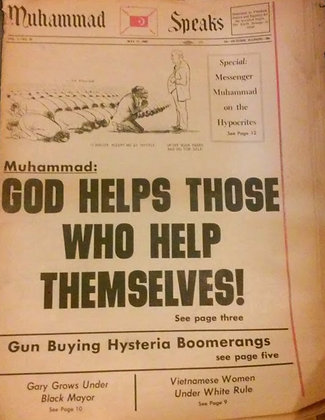 Vintage Muhammad Speaks May 17, 1968