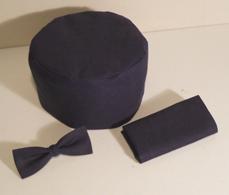Fez Bow Tie and Handkerchief