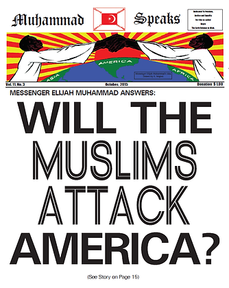 Muhammad Speaks Newspaper October, 2015