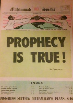 Vintage Muhammad Speaks December 17, 1971