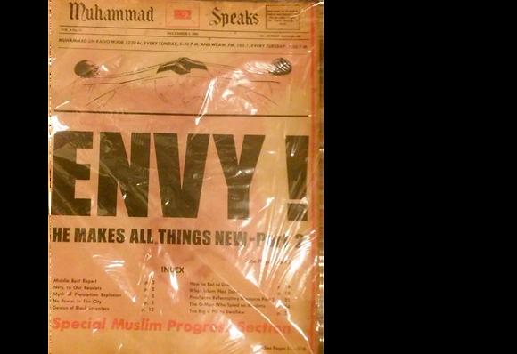 Vintage Muhammad Speaks December 5, 1969