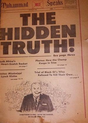 Vintage Muhammad Speaks October 4, 1968