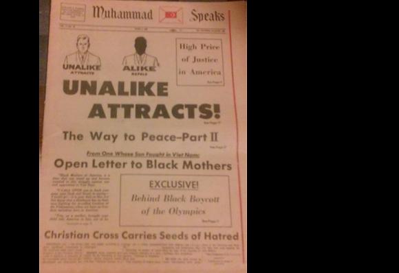 Vintage Muhammad Speaks April 5, 1968