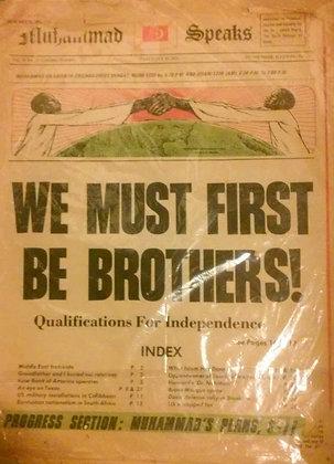 Vintage Muhammad Speaks January 22, 1971