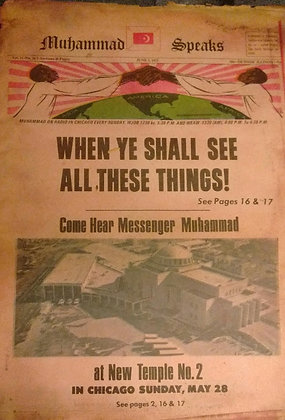 Vintage Muhammad Speaks June 2, 1972