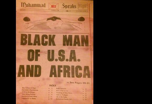Vintage Muhammad Speaks October 17, 1969