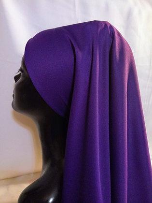 Purple Headpiece
