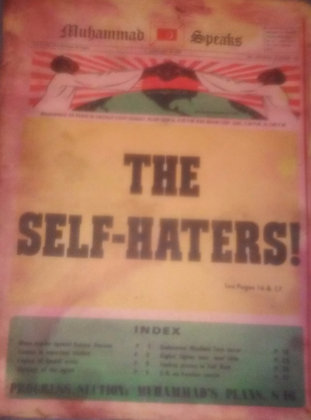 Vintage Muhammad Speaks Newspaper January 14, 1972