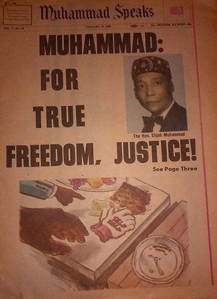 Vintage Muhammad Speaks January 19, 1968
