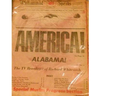 Vintage Muhammad Speaks December 19, 1969