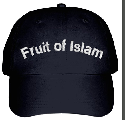 Fruit of Islam Embroidered Cap