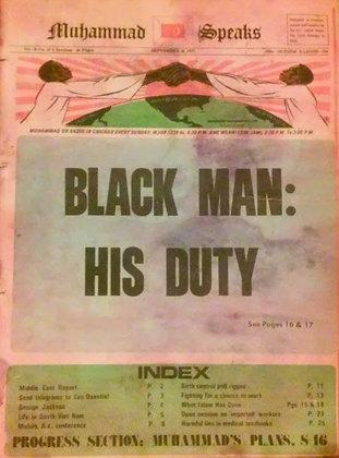 Vintage Muhammad Speaks September 10, 1971