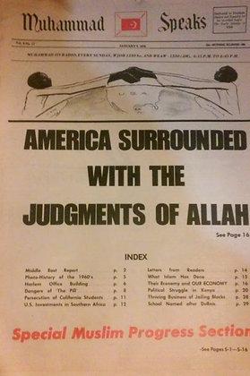Vintage Muhammad Speaks January 9, 1970