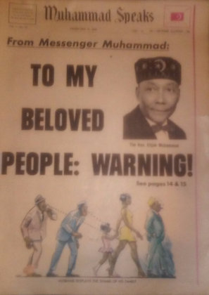 Vintage Muhammad Speaks February 16, 1968