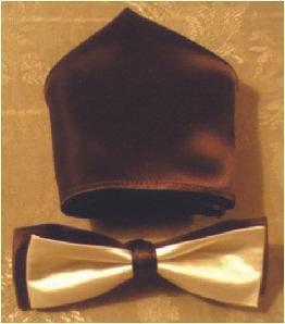 Two Tone Bow Tie Set